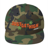 JUST GET HIGH™ 3D EMBROIDERY CAMO LID