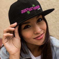 SNAPBACK 3D EMBROIDERY: JUST GET HIGH™ • LOGO