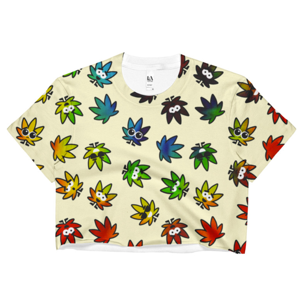 just get high_sublimation crop top_kawaii NEW
