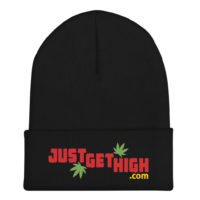BEANIE: JUST GET HIGH™ • LOGO