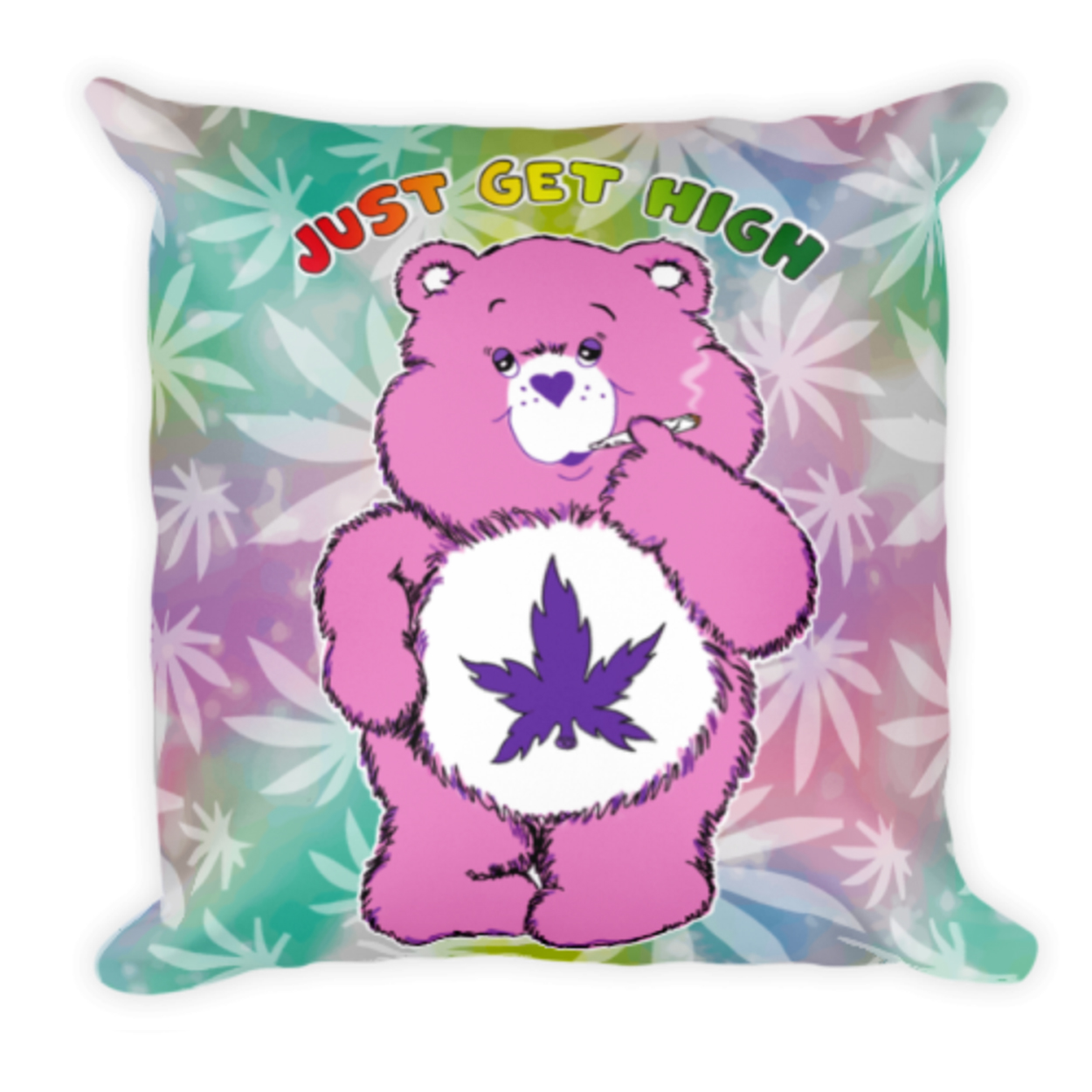 cannabear pillow_purps_front