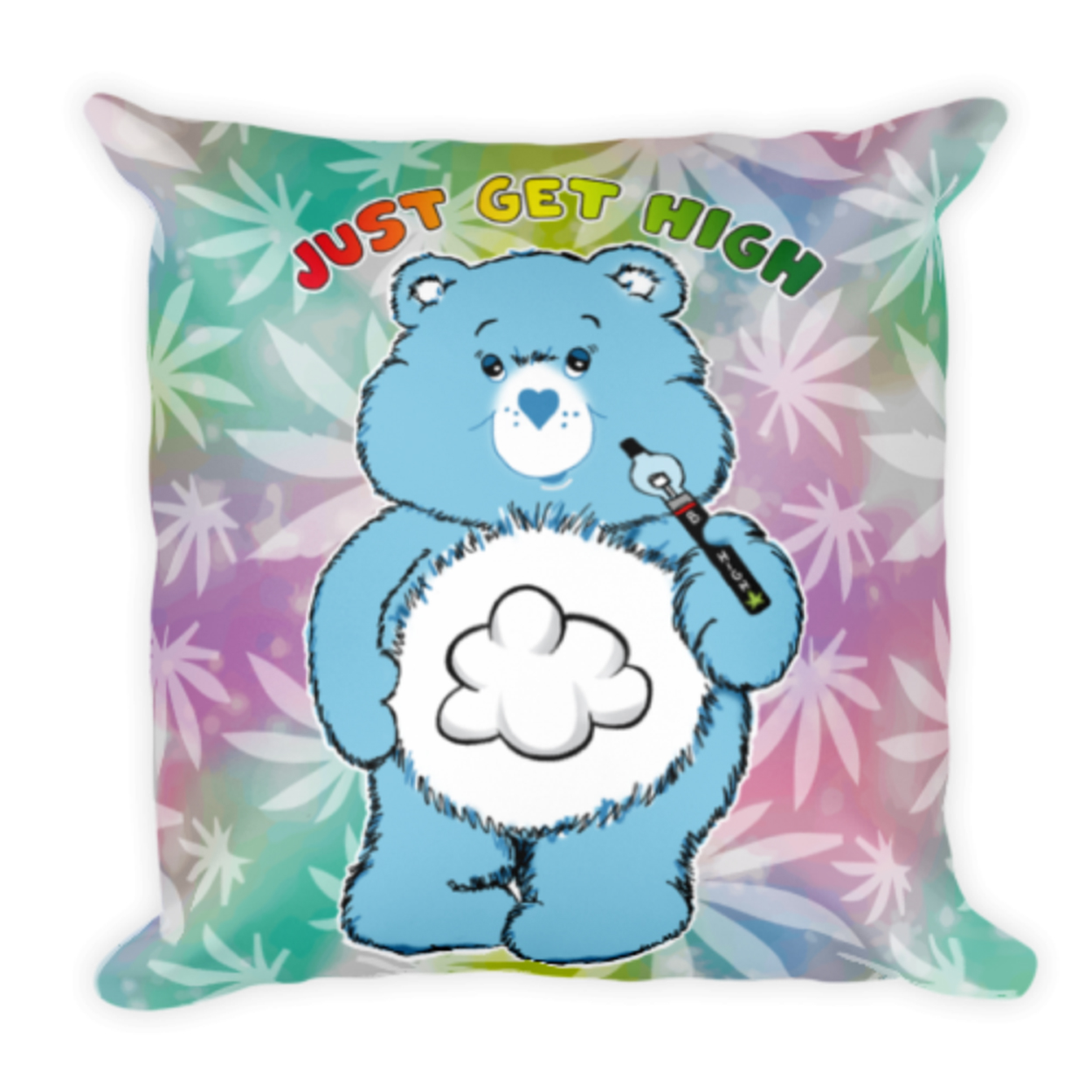 cannabear pillow_vape_front