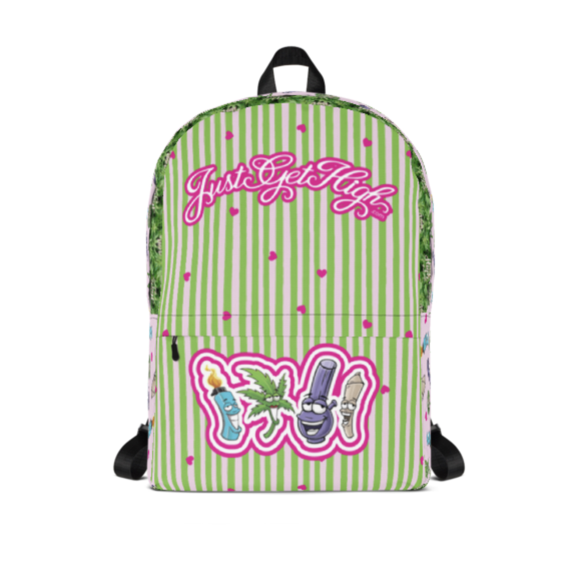 just get high_backpack_best buds_front