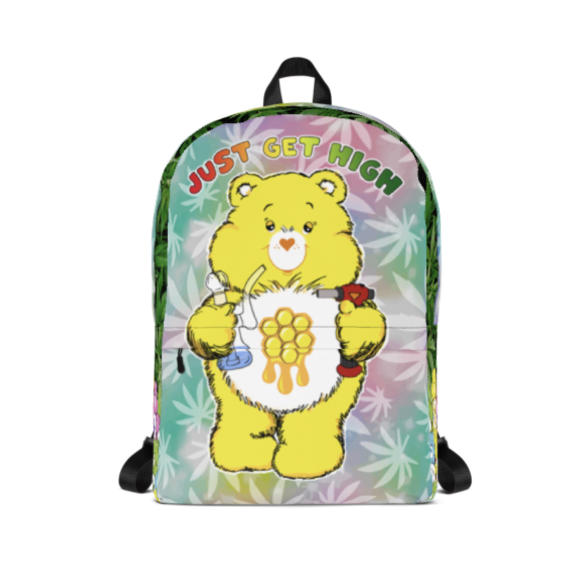 just get high_backpack_cannabear dab_front