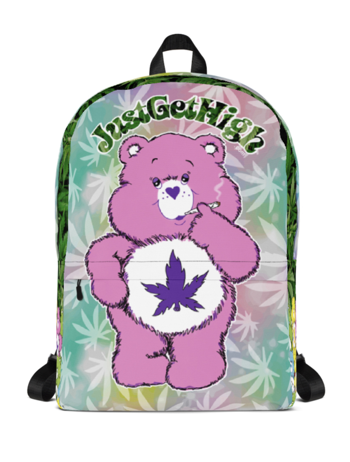 just get high_backpack_cannabear purps_front