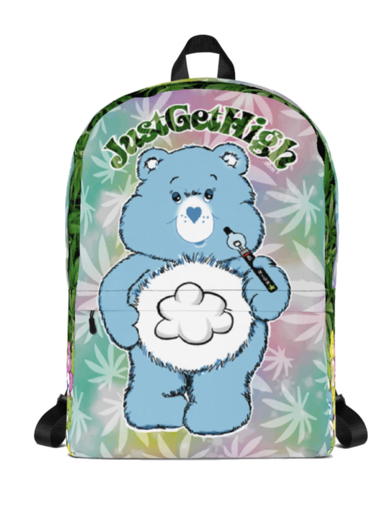 just get high_backpack_cannabear vape_front