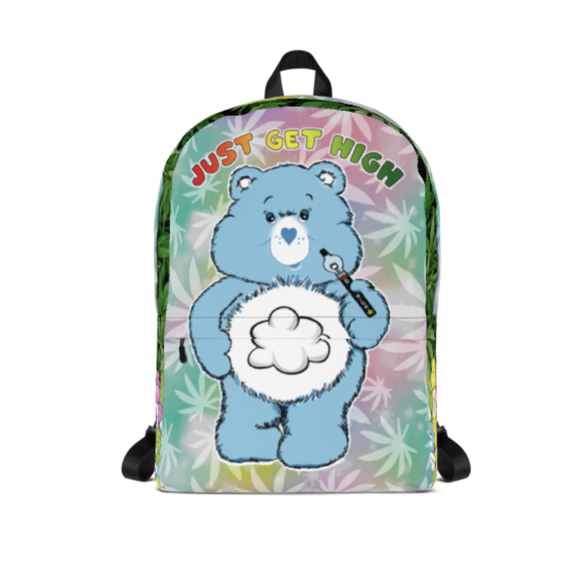just get high_backpack_cannabear vape_front