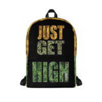 BACKPACK: JUST GET HIGH™ LOGO