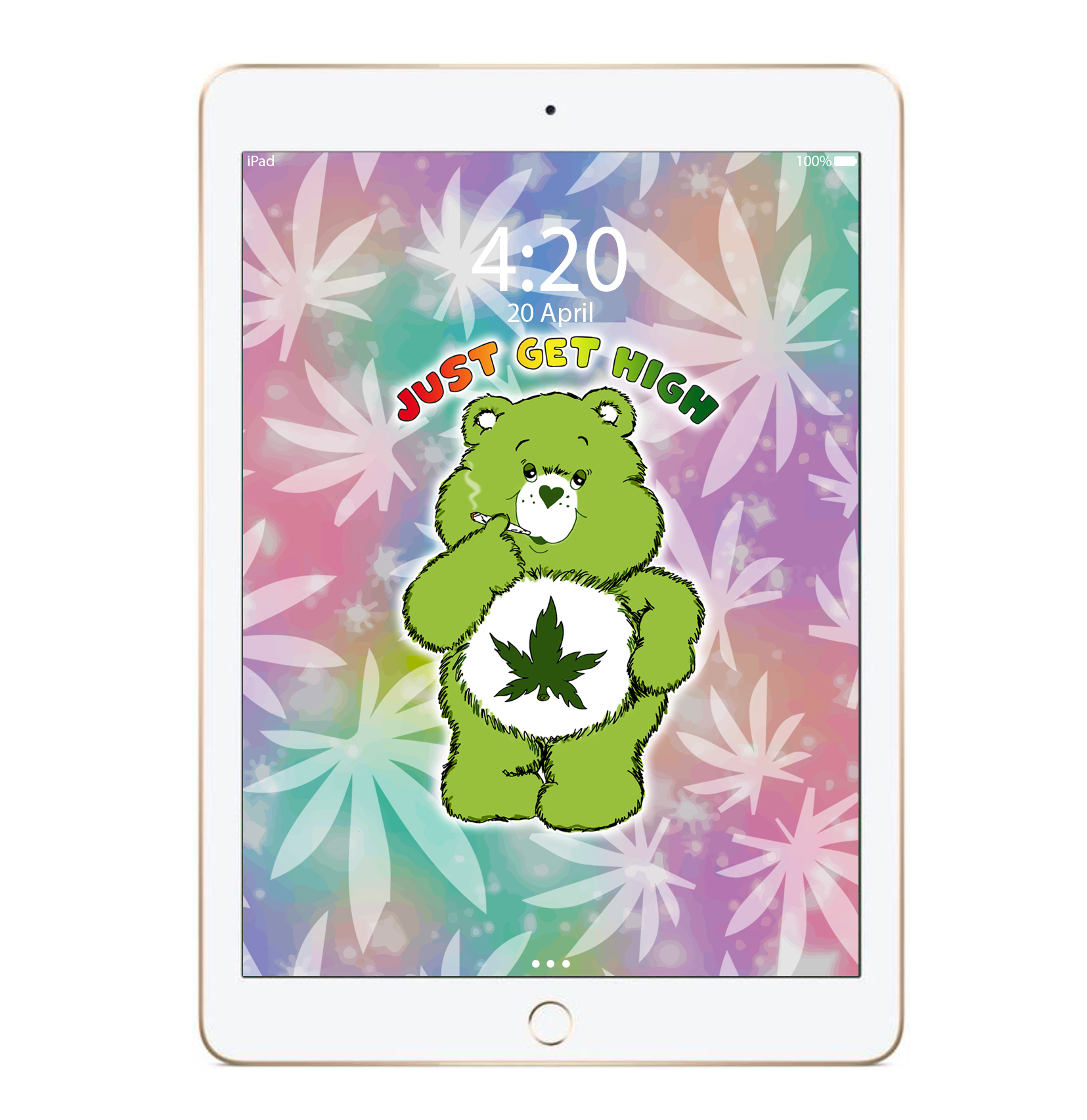 just get high_ipad_blazeybear_leaf_mockup