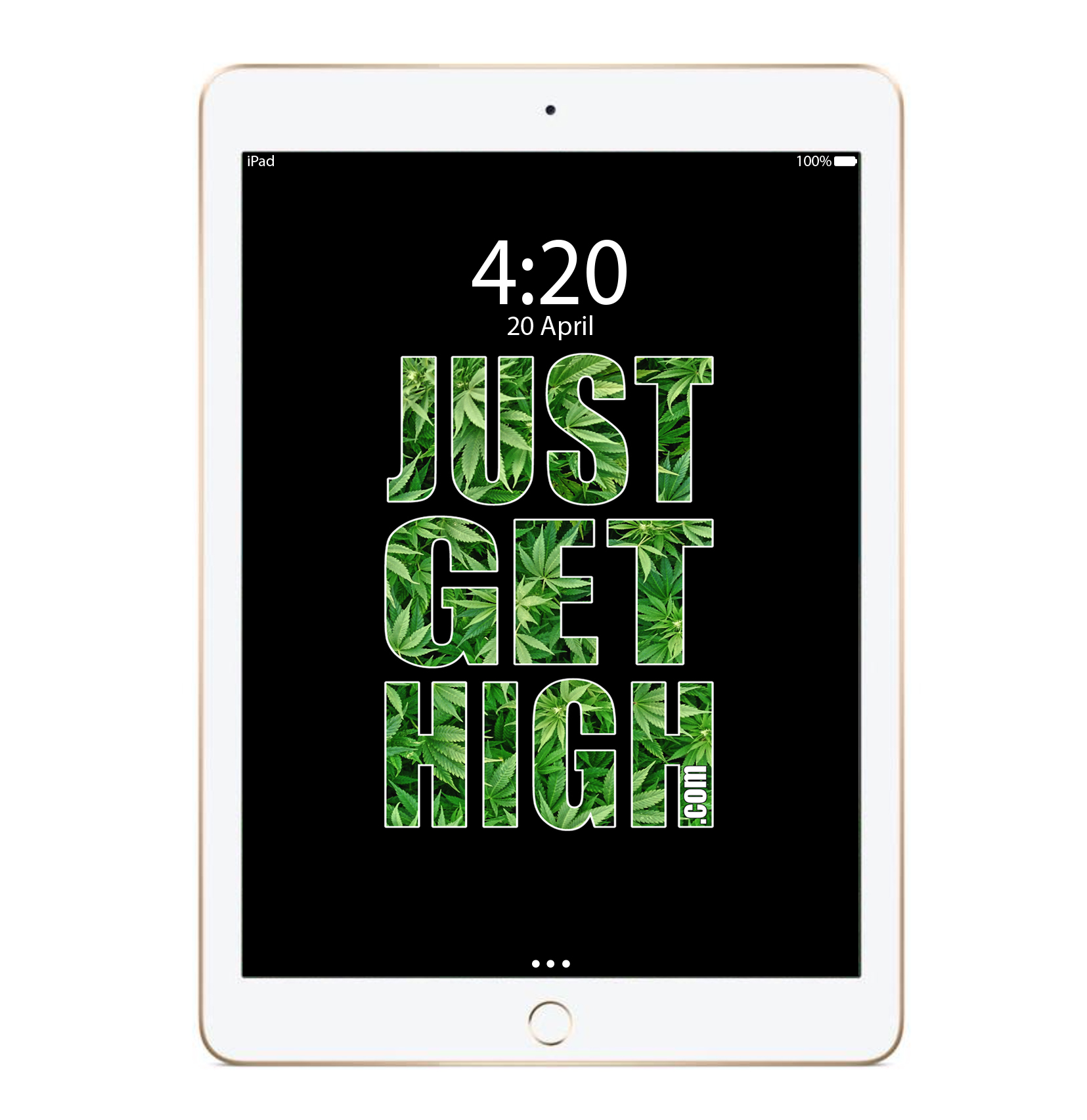 just get high_ipadclassic logo_mockup
