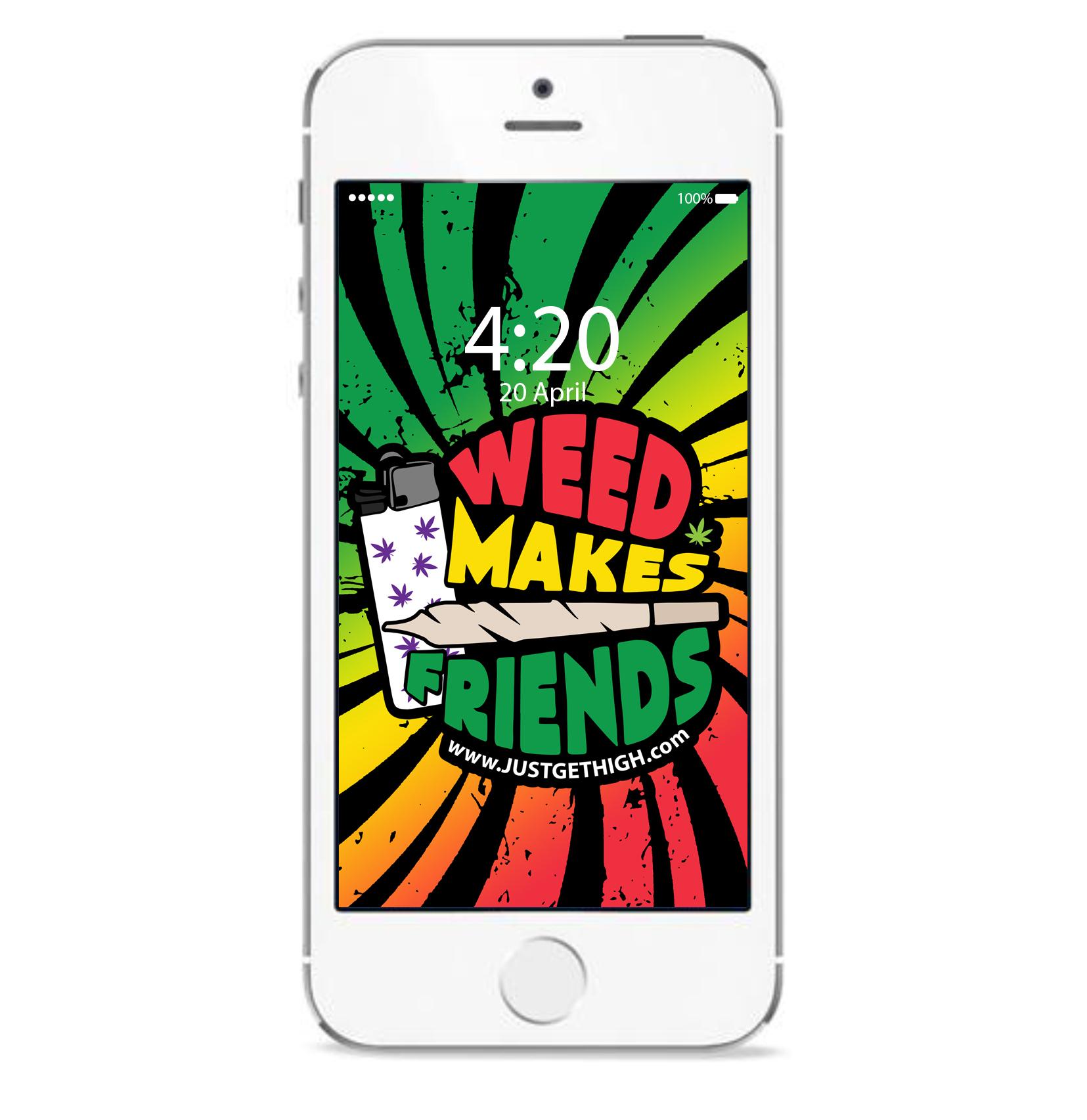 just get high_iphone_WMF RASTA_pad