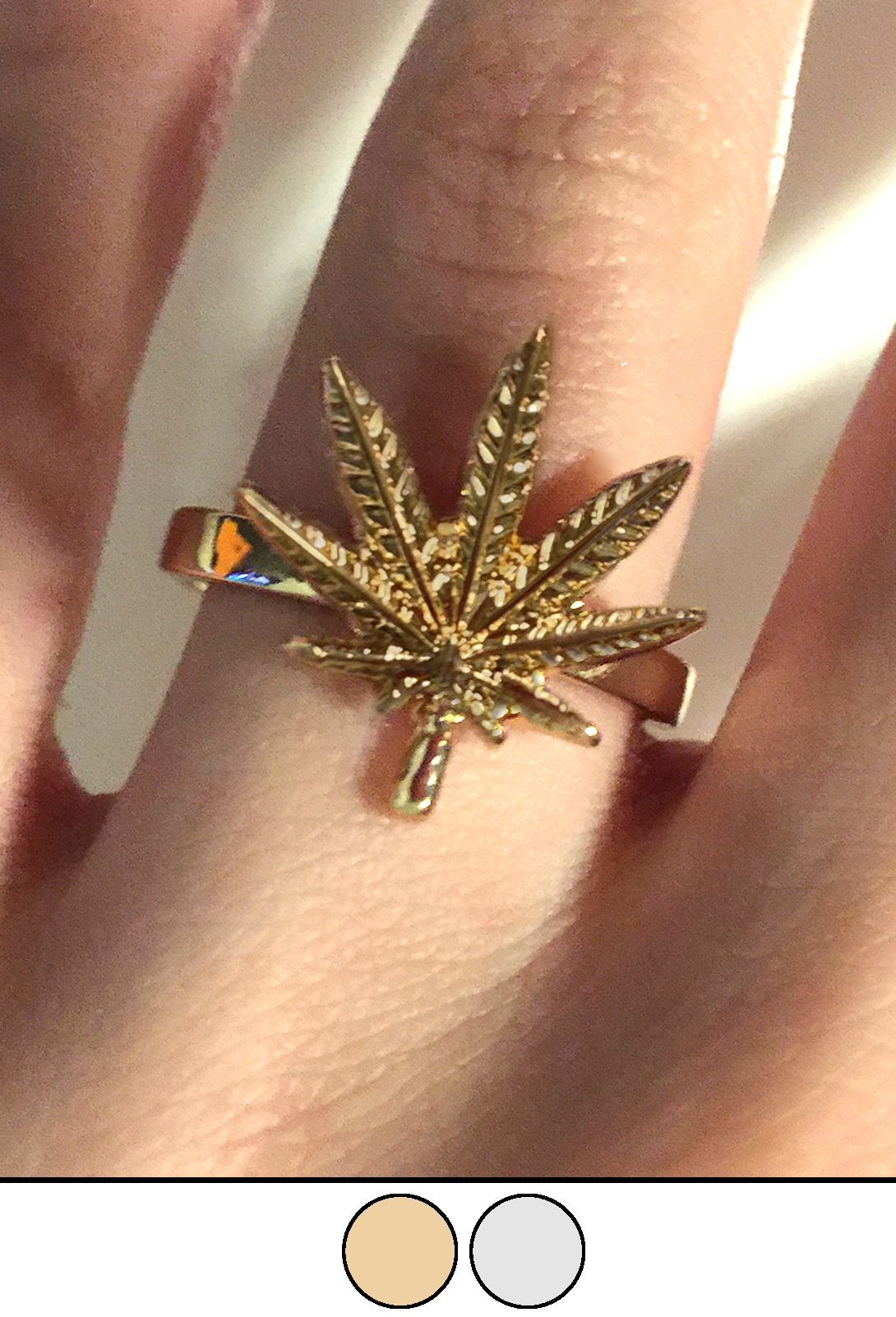 just get high_cannabis ring_gold_wide band_web 1