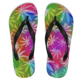 just get high_flip flops_rainbow_1