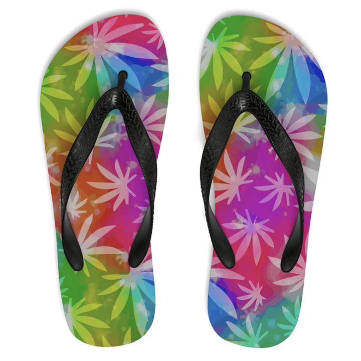 just get high_flip flops_rainbow_1