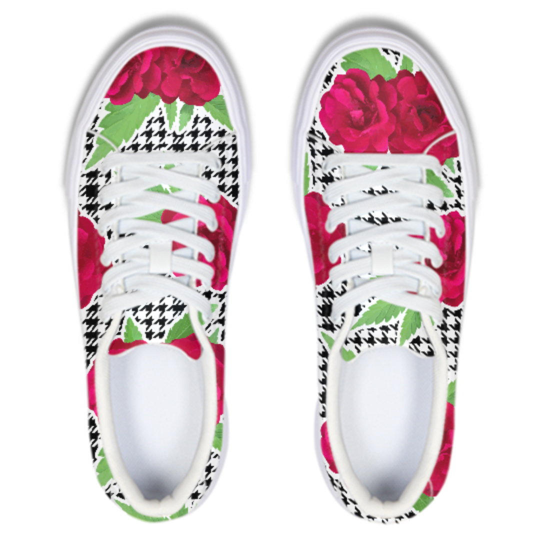 just get high_sneaker_watercolor_roses
