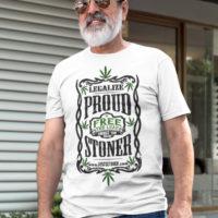 T-SHIRT: PROUD STONER