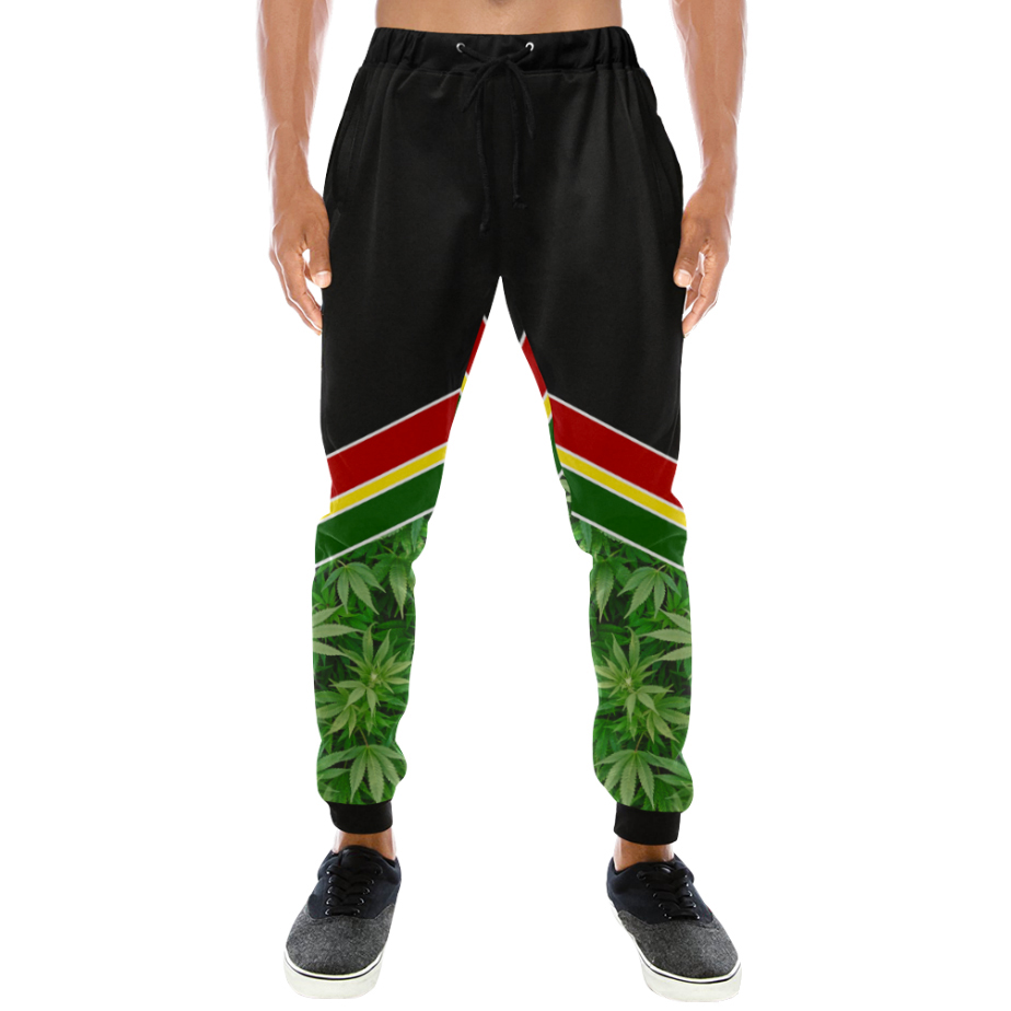 joggers_just get high_rasta 1