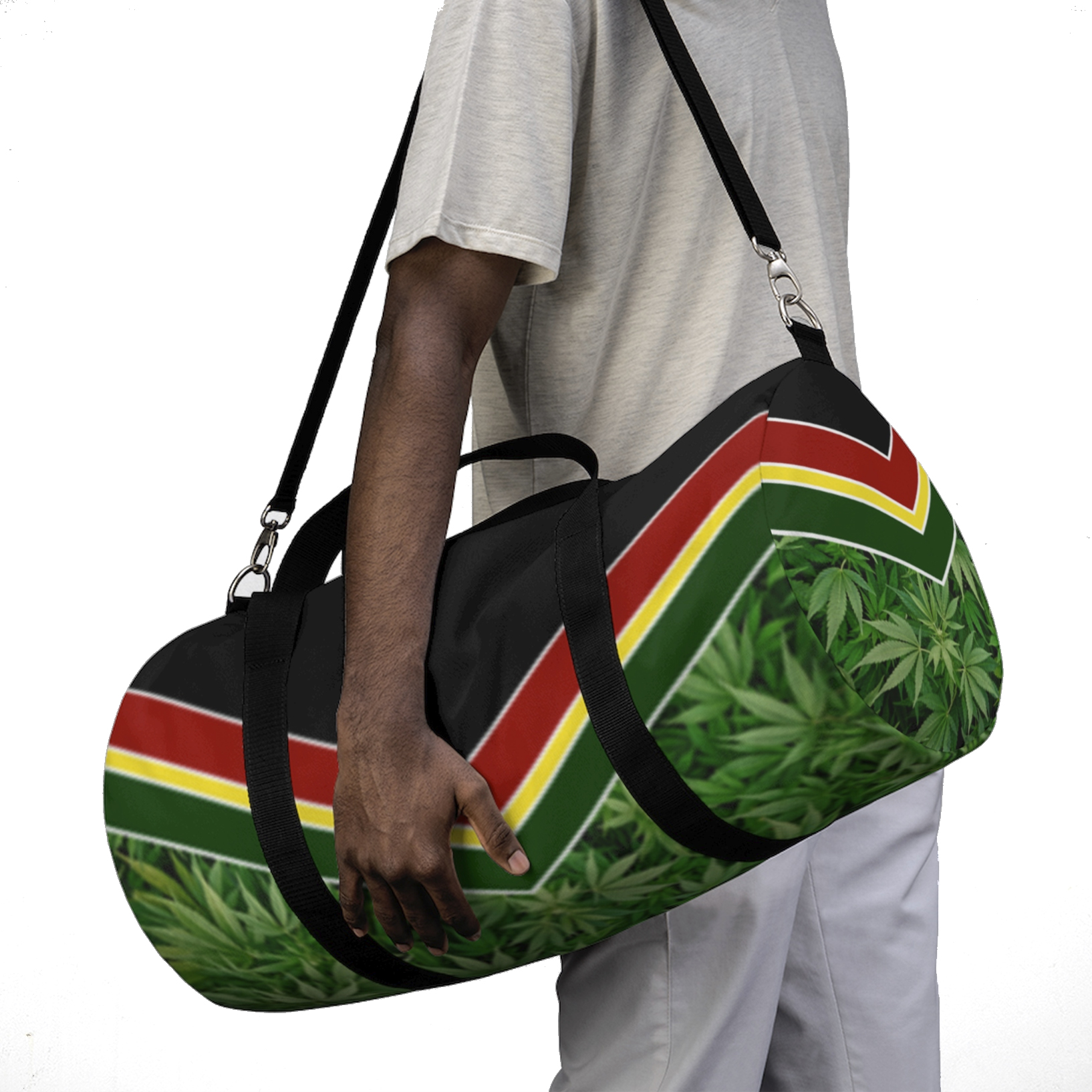 just get high_duffle bag_model