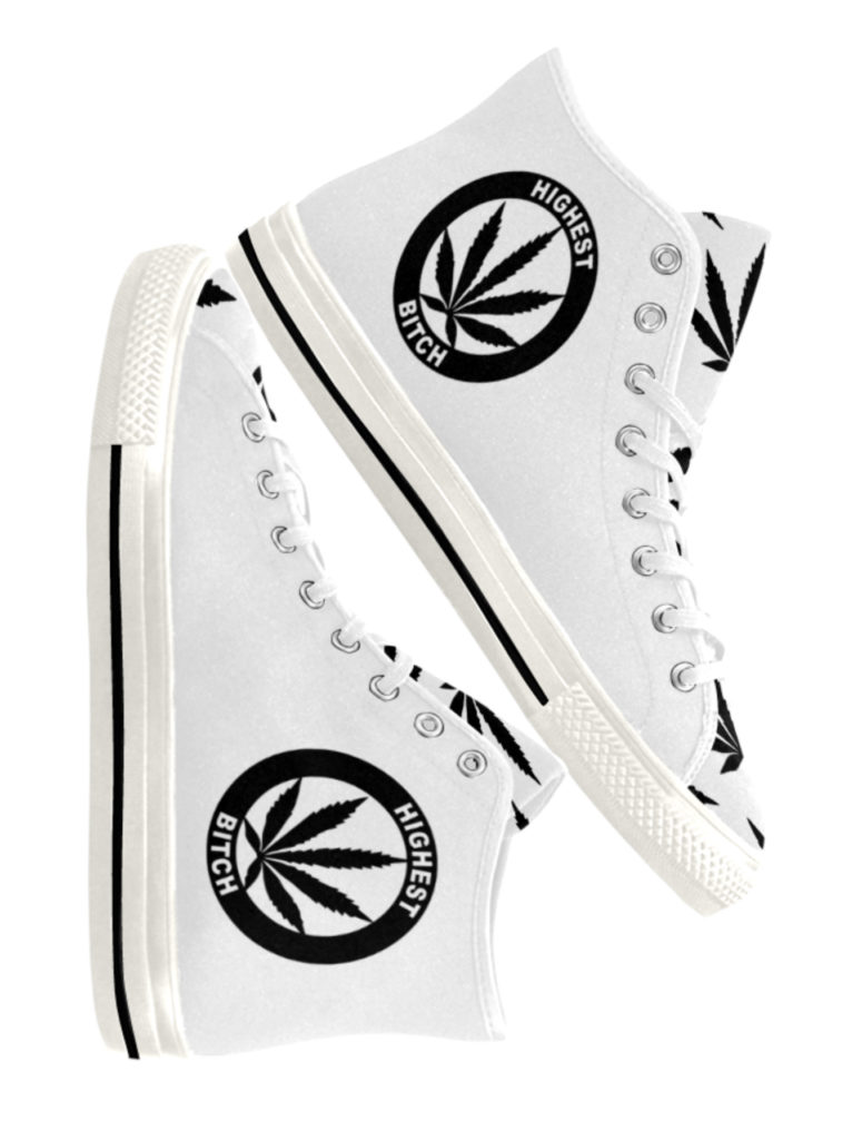 just get high_hightops_highest bitch_black on white_web sides