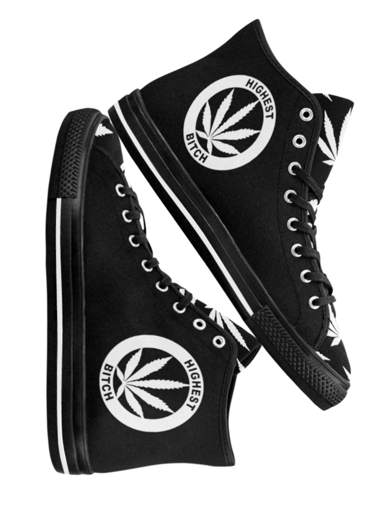 just get high_hightops_highest bitch_white on black_NEW_web