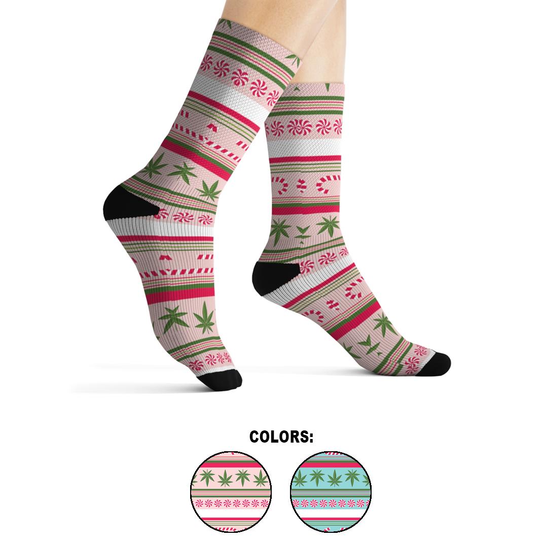 holidaze_socks candy cane stripe_all