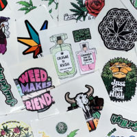 STICKER PACK: JUST GET HIGH™ • 13 ORIGINAL STICKERS (Regular Size)