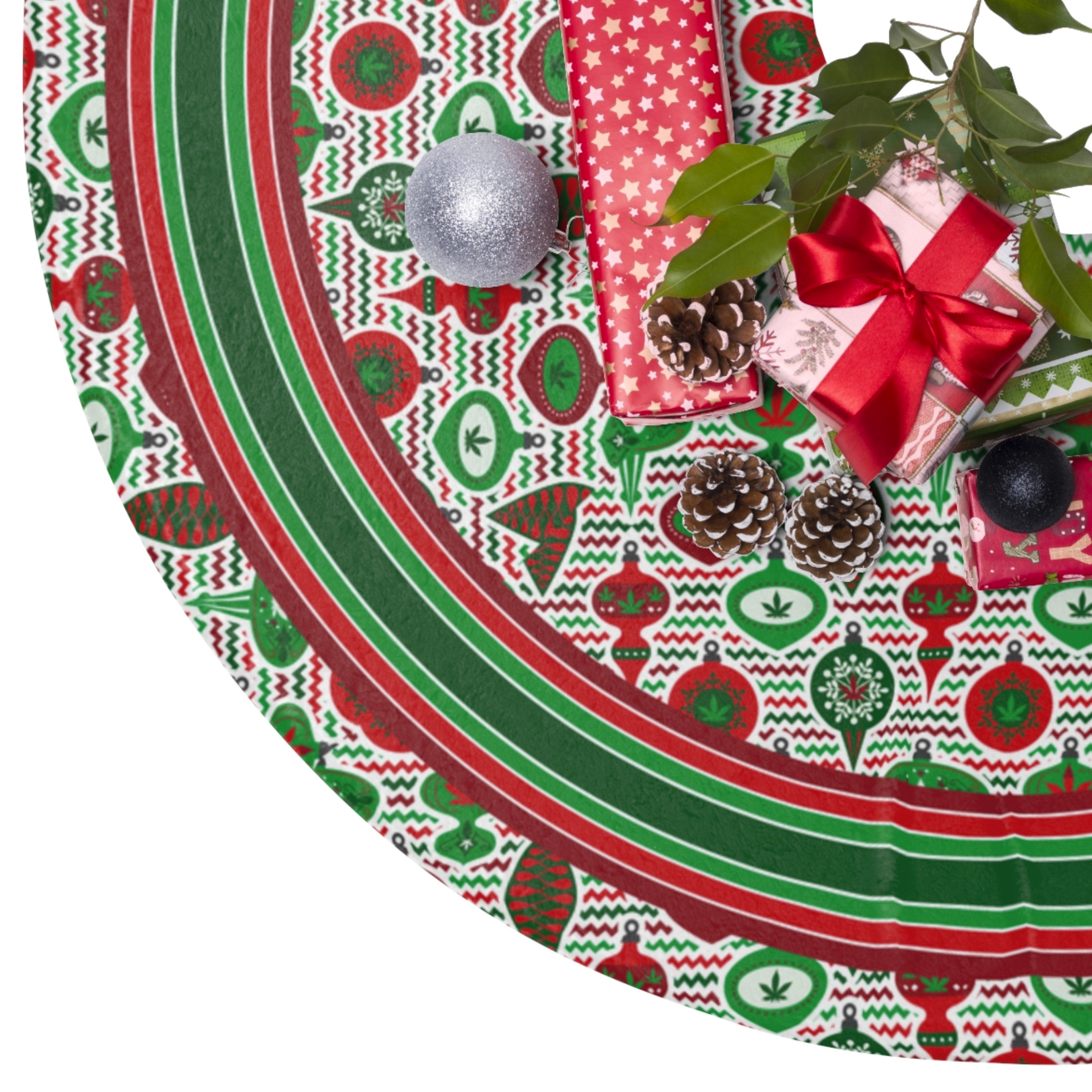 just get high_ornaments tree skirt 1