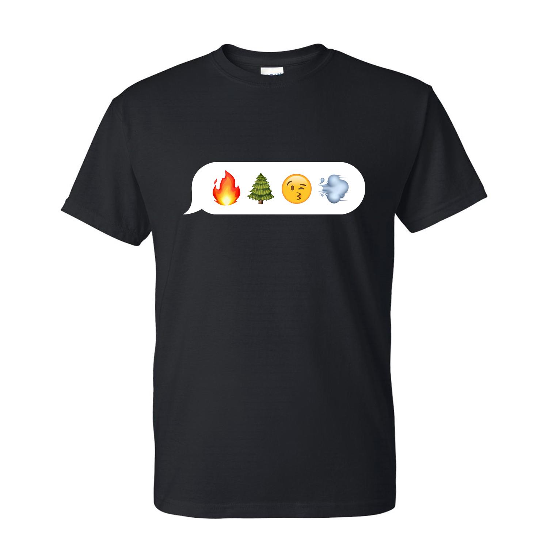 emoji_best buds_just get high_SHIRT A