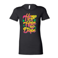 FITTED SHIRT: HEMP IS HOPE