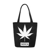 CANVAS TOTE: INDICA AND SATIVA