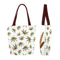CANVAS TOTE: TRIBE LEAF