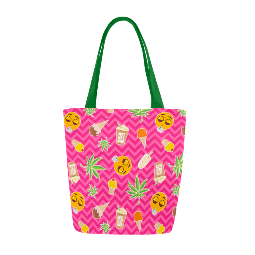 Just Get HIgh_tote_zig zag summer_front