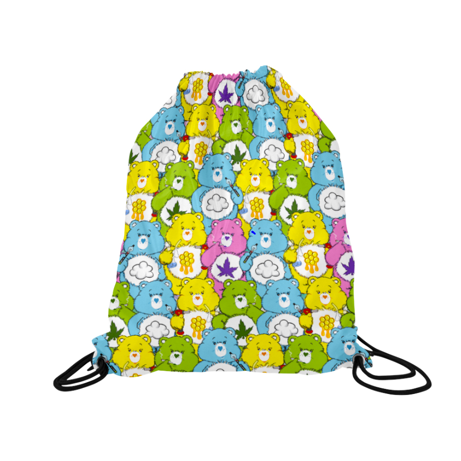cannabears_just get high_drawstring backpack_front
