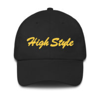 DAD CAP: HIGH STYLE