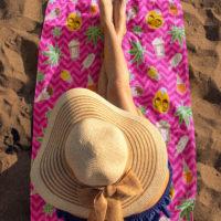BEACH TOWEL: ZIG ZAG SUMMER