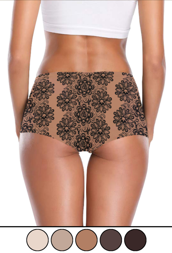 just get high_booty short undewear_almond lace_web