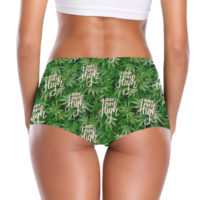 BOOTY SHORTS: JUST GET HIGH™ • LOGO