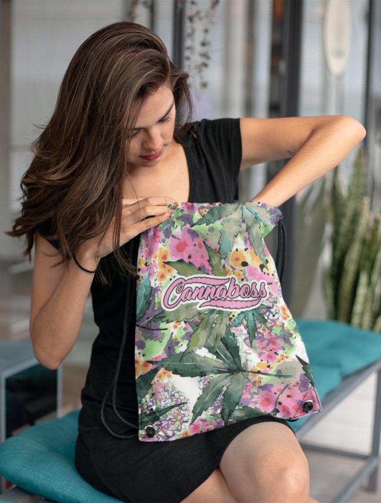 just get high_drawstring bag_cannaboss