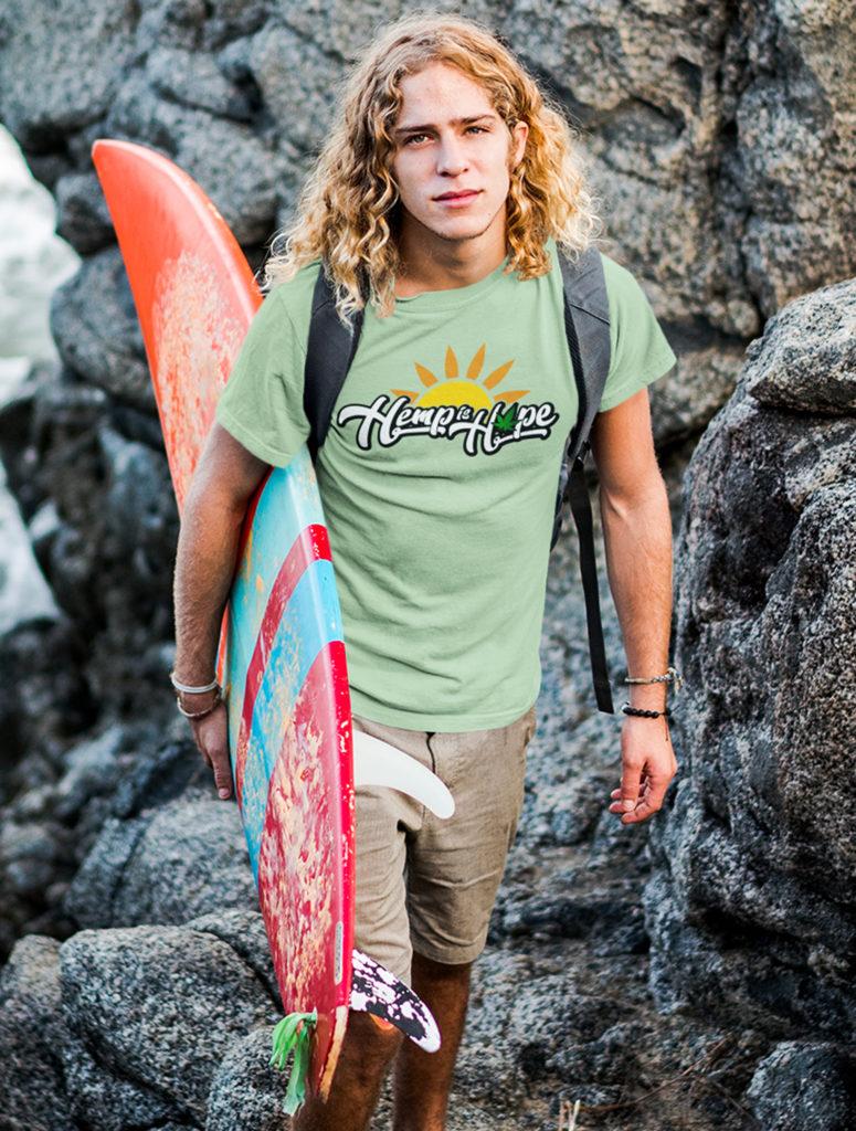 just get high_hemp is hope_shirt_surf_close