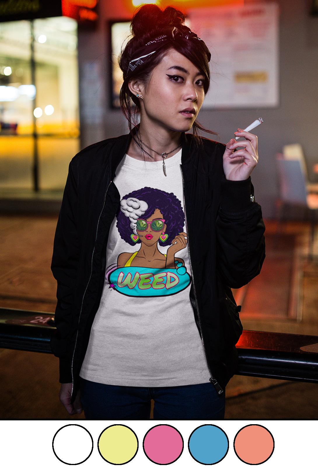 just get high_pop art_shirt_model