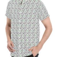 DRESS SHIRT: LEAF LOVE