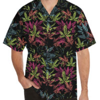 HAWAIIAN SHIRT: SWEETLEAF STAMP