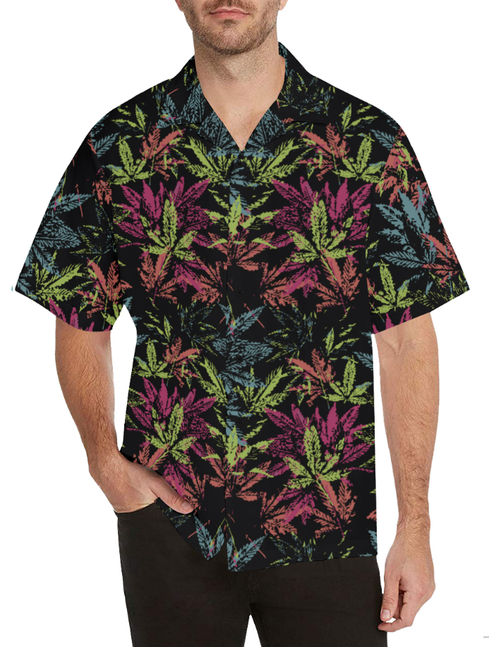sweetleaf_just get high_hawaiian shirt