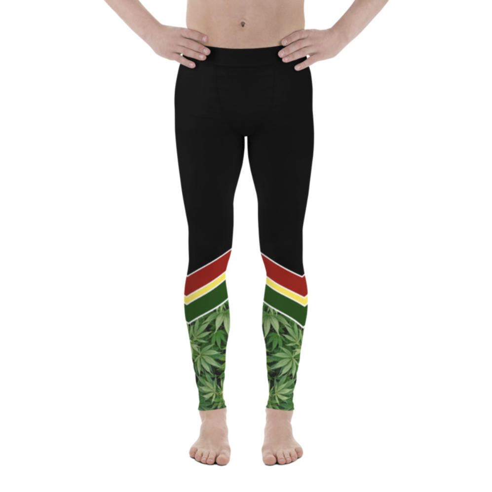 cheveron_mens leggings_just get high_front