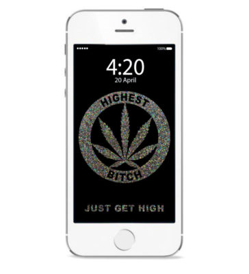 just get high_iphone_highest bitch glitter_mockup