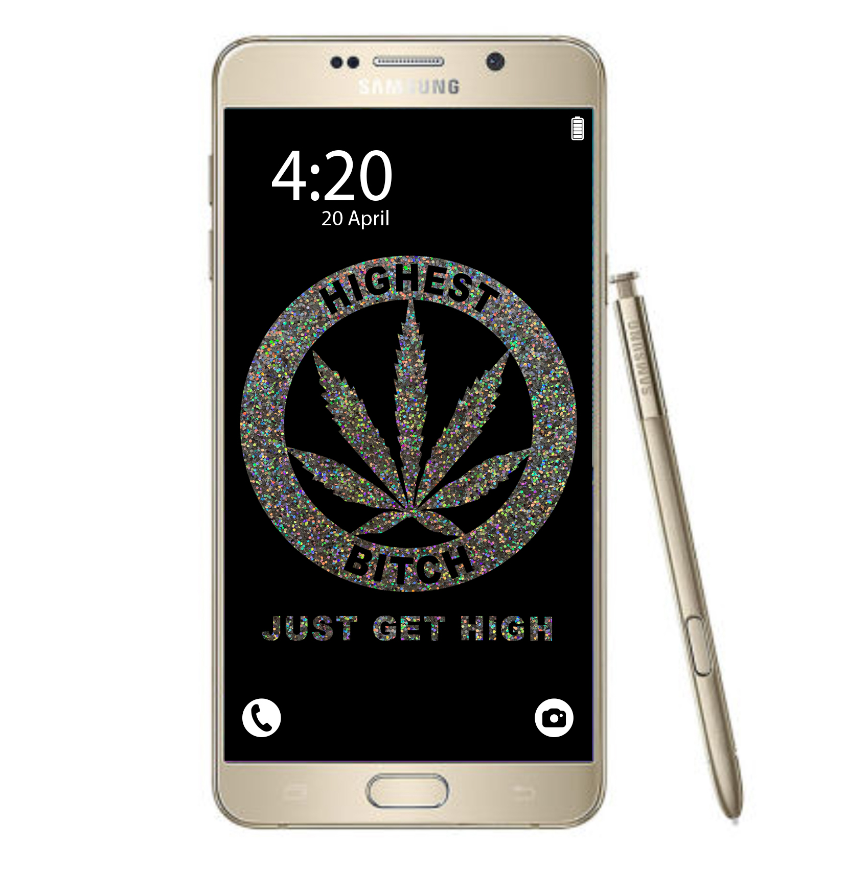 just get high_samsung_highest bitch glitter_mockup