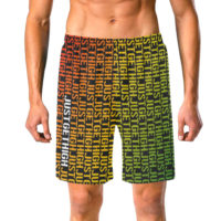 SWIM TRUNKS: JUST GET HIGH™ • RASTA STENCIL