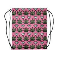 DRAWSTRING BACKPACK: DOPE AND DIAMONDS