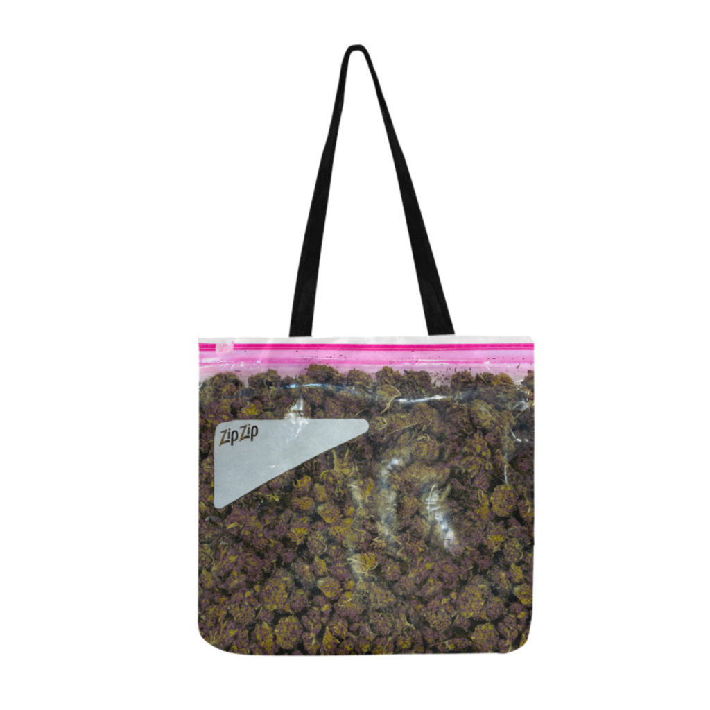 Just Get HIgh_ oxford tote_stash purps_web
