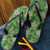 FLIP FLOPS: JUST GET HIGH™ LOGO